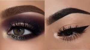 easy prom eye makeup tutorial bronze glitter smokey 6