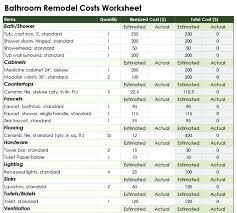 bathroom renovation cost estimator. Bathroom: Best Choice Of Bathroom 2017 Renovation Cost Remodeling In Estimator From A