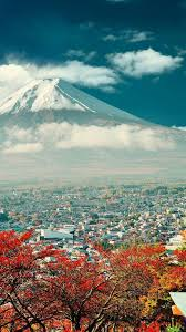 Japan landscape, Iphone wallpaper ...