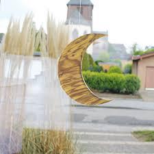 Fensterdeko Groß Aus Holz Mond 20cm Kaufen