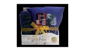 warner coffret plaid polaire et coussin harry potter 100x130 / 35x35 cm  bleu - Achat/Vente plaid pas cher - Couleur-et-design.fr