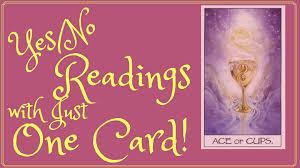 tarot card reading yes no tarot