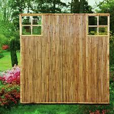 Sichtschutzwand Bambus Sichtschutzelement Zen Ziergitter