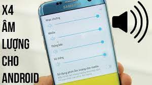 X4 âm lượng cho điện thoại Android với ứng dụng sau - YouTube