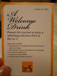 Studies have shown that drinking. The Drink Coupon At Bar On 5 But Only Redeemable For Coffee Tea Soft Drink Picture Of Mandarin Orchard Singapore Singapore Tripadvisor