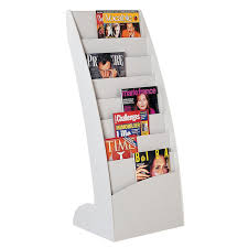 office depot magazine rack. Amazing Magazine Racks Within PaperFlow Curved Floor Rack Model 285 Office Zone Plan 12 Depot G