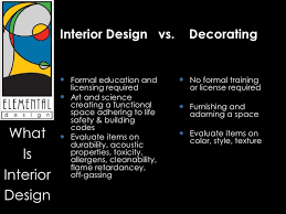 Difference Between Interior Design And Decorating