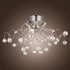 cheap ceiling lighting. lightinthebox modern crystal chandelier with 11 lights chrom flush mount chandeliers ceiling light fixture for cheap lighting