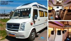 17 seater tempo traveller in lucknow