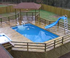 above ground pool deck coping