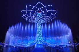 tree of life expo 2015 lighting design images