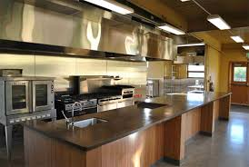 open commercial kitchen design