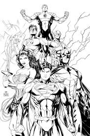 adult Pics Of Dc Comic Book Coloring Pages Comics Justice League ...