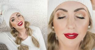 easy holiday glam makeup meg o on the go