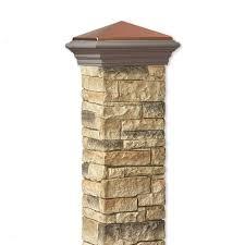 Decorative 4x4 Post Wraps Similiar Stone Column Wrap Sleeve Keywords