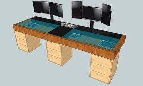 Gaming Computer Desk Plans