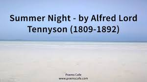 break break break by alfred lord tennyson analysis search results  summer night by alfred lord tennyson summer night by alfred lord tennyson