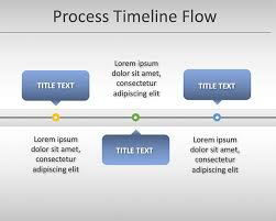 Example Of Timeline Chart Free Simple Process Timeline Chart Template For Powerpoint