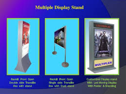 Multiple Poster Display Stands Advertising Sign Display Brand Promotion Item Manufacturer Suppl 90
