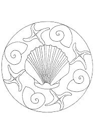 Kleurplaten Dolfijnen Mandala Mandala Vier Ringe Ausmalbild