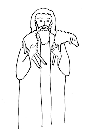 Small Picture Bible Story Coloring Page for The Lost Sheep Free Bible Stories