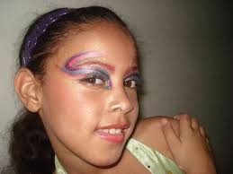 makeup tutorial for kids fairy pixie erfly mermaid colorful rainbow english you