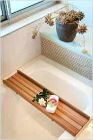 teak bathtub caddy bath with reading rack teak bathtub tray caddy