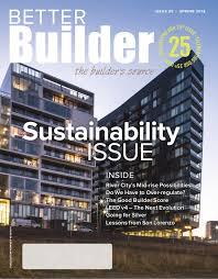 Better Builder Magazine Issue 25 Spring 2018