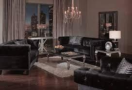 velvet living room