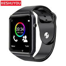 <b>KESHUYOU</b> A1 Bluetooth <b>smart watch</b> Sport Pedometer <b>Smartwatch</b> ...