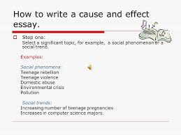 cause and effect essay when the student is ready the master  what is a cause what is an effect  cause and effect depend on