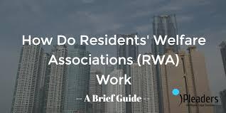 How Do Resident Welfare Associations Work A Brief Guide