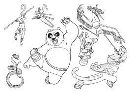 25 Nieuw Kung Fu Panda 3 Kai Kleurplaat Mandala Kleurplaat Voor
