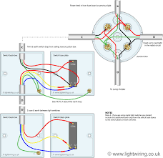 3 way switching wired to a loop in loop out radial lighting circuit