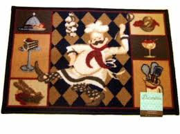 fresh chef rugs for kitchen add humor to your fat themed with this rug