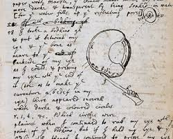 does science need mavericks or are they part of the problem   an experiment to put pressure on the eye from isaac newton s notebooks 1665 6 photo courtesy cambridge university library