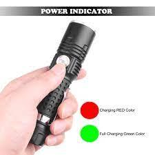 Đèn Pin Xhp50 Led 3 Chế Độ Sáng Ipx4 Chống Thấm Nước Sử Dụng Pin 18650 - Đèn  & Đèn Pin
