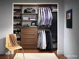 reach in closet systems. Wonderful Systems Minimalist Wall Hung Closet System In A Short North Home On Reach In Closet Systems
