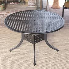 marvelous inch round outdoor dining table cast aluminum patio glass furniture small set and chairs square