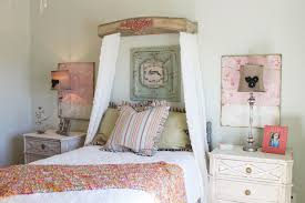 Bedroom Shabby Chic Ideas Twin Wardrobe Cabinetry Double Wooden Side Doors  Decorative Wall Picture Frame Square Quee