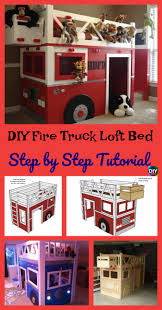 diy4ever diy fire truck loft bed step by step tutorial p diy fire truck loft