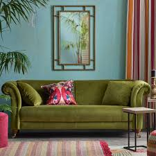 Velvet Sofas - Our Pick Of Best | Ideal Home within Chartreuse Sofas (Image  15