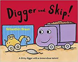Amazon | Digger and Skip | Braun, Sebastien, Braun, Sebastien | Boys & Men