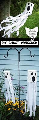 DIY Tin Can Ghost Windsock