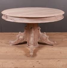 french oak circular table