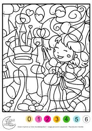 Images De Coloriage Magique Pour Fille De 4 Ans Coloriage Pour