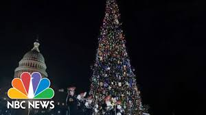 Nbc News Christmas Lights Pres Trump Speaks At National Christmas Tree Lighting Ceremony Nbc News Live Stream Recording