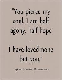 Literature Quotes Fascinating Jane Austen Persuasion Literary Quote On Love By Jenniferdare On