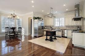dark wood floor kitchen. White Kitchen Cabinets With Hardwood Floors Dark Wood . Floor