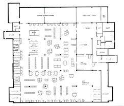 Cafeteria Floor PlanCafeteria Floor Plan